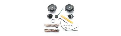 Dedicated speakers BMW,Golf,Peugeot